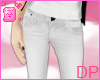 [DP] White Artistic Jean