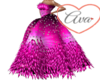 Pink Feather Fanasty Gow