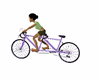 tandem bike ride animate