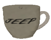 Steaming cup (jeep)