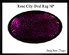 Rose City Oval NP Rug