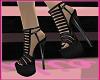 437Sexy! Heels Black