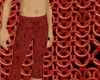 Red Tunic pants warrior