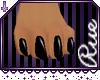 +R+ Black M Furry Feet