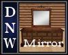Country Oak Mirror