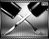 -P- Cutlery Hands
