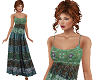 TF* Green BOHO Dress