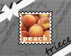 {T}peach stamp
