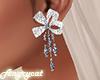 Earrings Diamond Bow