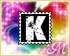Letter K Stamp