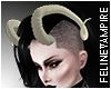 Ridged Curved Horns |drv