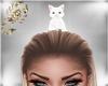White Head Kitty
