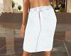 TF* White Straight Skirt