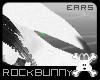 [rb] White Grey Ears Bun