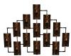 Leopard Candles Deco