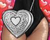 ⓦ HEART BAG Silver