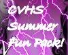 CVHS summer fun pack