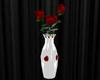 vase rose white poseless