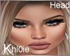 K diane open mouth head