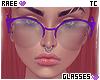 ® Tc. Purple Glasses