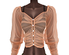 (A.F) transparent blouse