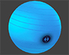 Gym Exercise Ball Blue