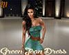 [M] Green Jean Dress RLS