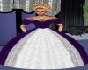 pricilla purple gown