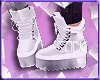 Ck. Silver boots