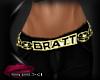 sexi~THIN Bratt Belt *G