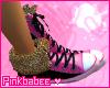 Pb} Leopard prt sneaker