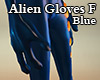 Alien Gloves F blue