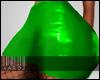 Green Skirt w/ Mesh