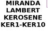 KEROSENE MIRANDA LAMBERT