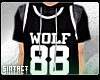 + Wolf 88 Jersey Hoodie