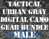 Gray DigitalCamo BundleM