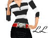 LL: VN Outfit Blk/white