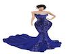 NM GALA BLUE DRESS