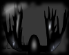 F/M Rubber Moose Antlers