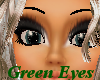 (E) Green Sparkly Eyes