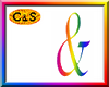 C&S Rainbow AND Sign