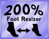 Foot Scaler 200%