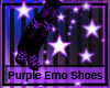 Purple Emo Shoes