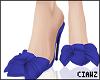 🌹 Bow Purple Heels