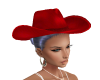 BLUE COWGIRL HAT