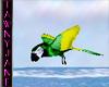 ^TJ^Green&Yellow Parrot