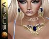 ~V~Scarab Sapphire Set