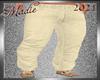 !b Kid-Men Pale Yw Pants