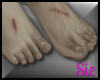 Feet - Zombie (tiptoe)