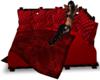 mahogany  couch